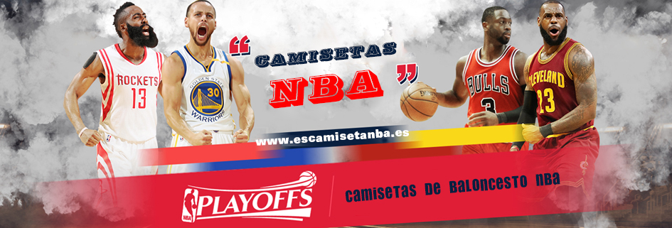 Camisetas de baloncesto nba